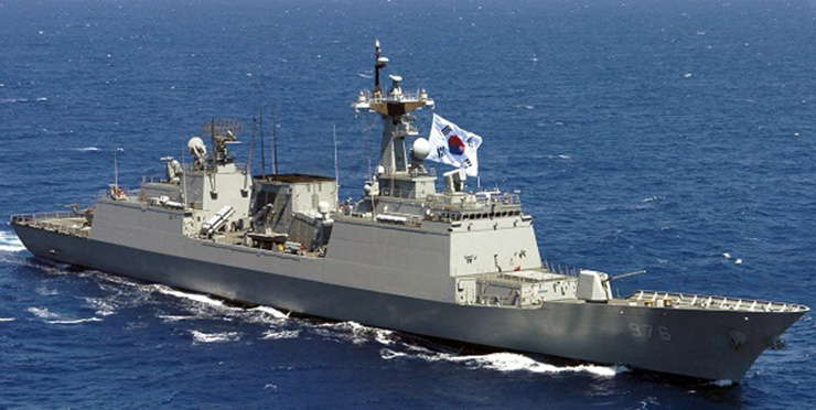 South Korean warship heading to Ghana to save kidnapped sailors