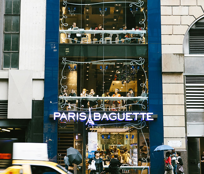 Paris baguette to open 2 000 stores in us china for New anthropologie stores opening 2016