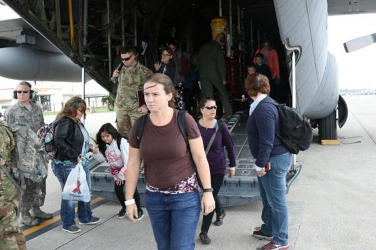 US military to hold civilian evacuation drill on April 16-20