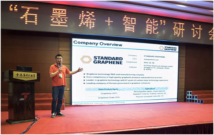 Standard Graphene Chief Stresses Technical Cooperation With China - Featured Graphene Patents