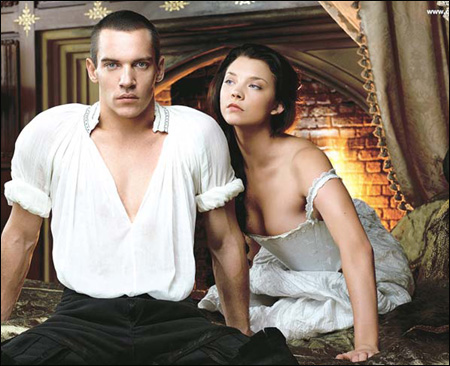 ... interpreted by hot young actors Jonathan Rhys Meyers and Natalie Dormer.