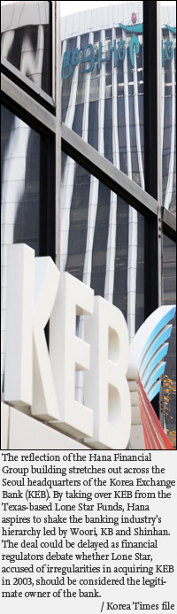 Lone Star KEB Deal Stalled