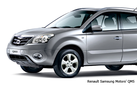 gm daewoo renault samsung ssangyong join race for sales. Black Bedroom Furniture Sets. Home Design Ideas