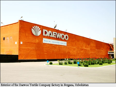 Daewoo Revives Global Managet in Central Asia